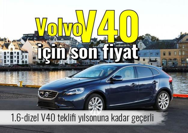 Volvo V40 için son fiyat - Otoajanda