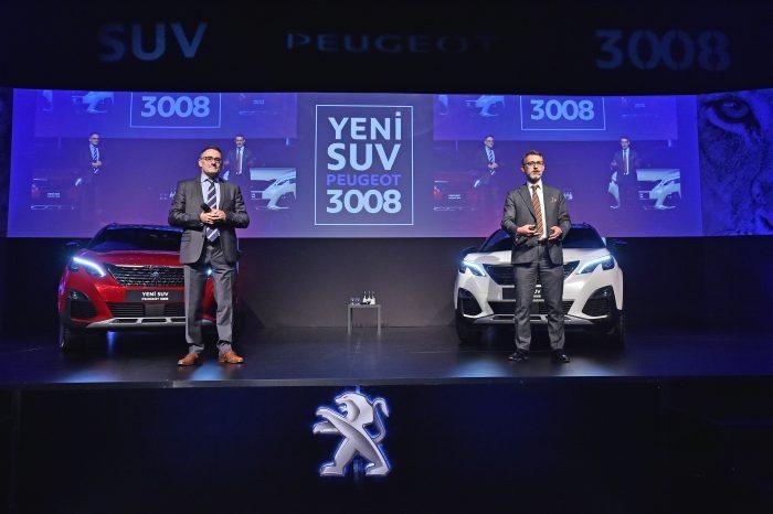 Peugeot Türkiye Genel Müdürü Laurent Pernet ve Peugeot Türkiye Pazarlama Direktörü Mehmet Akın