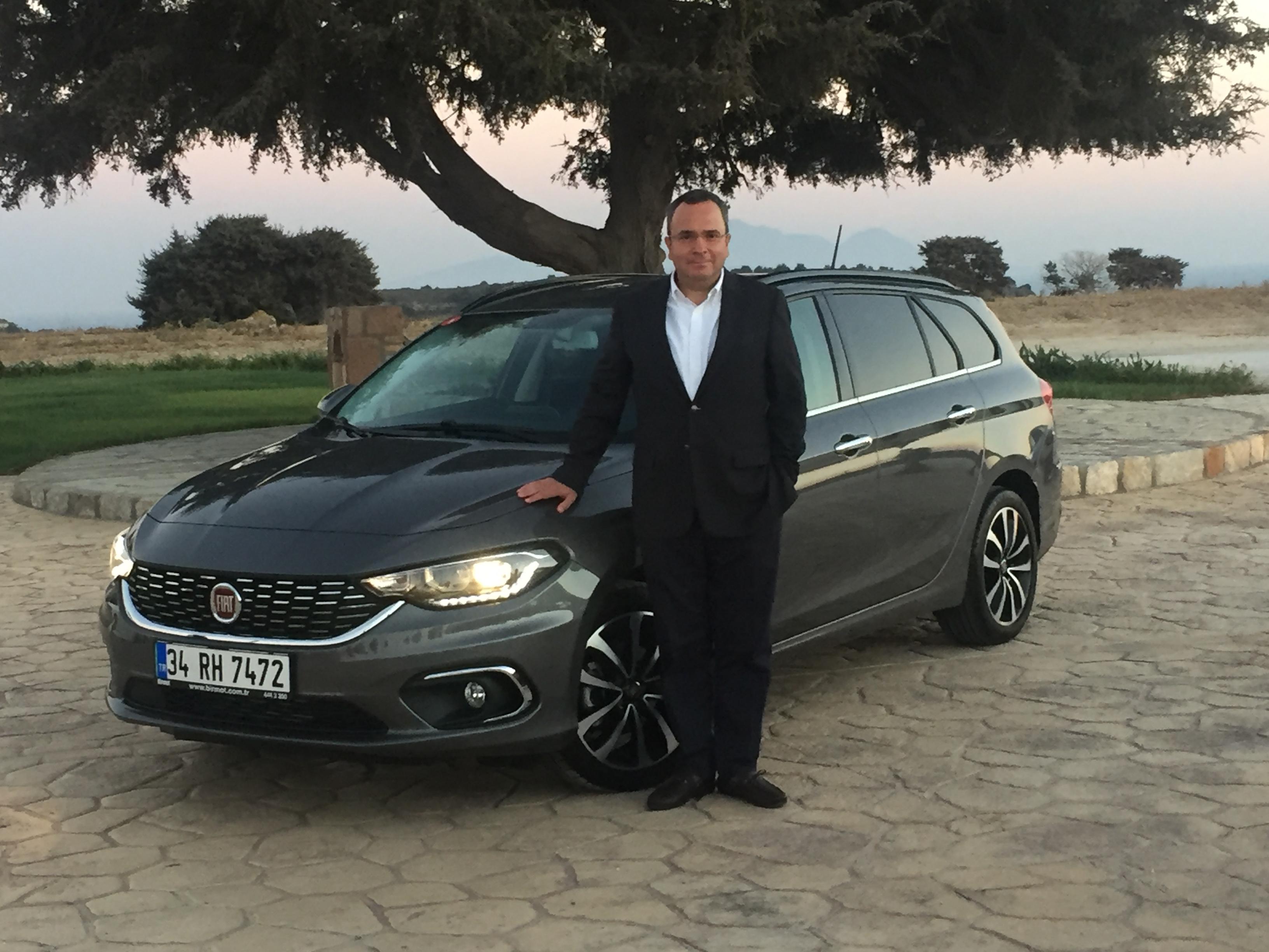 Fiat Marka Direktörü Altan Aytaç, Yeni Egea SW lansmanında hedeflerini ortaya koydu.