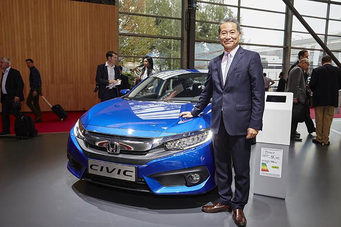 Honda Türkiye Başkanı Hideto Yamasaki, yeni Civic Sedan lansmanında konuştu.