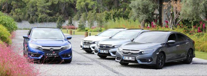 Türkiye ihracatına Şekerpınar'da üretilen yeni nesil Honda Civic SEdan da omuz verecek