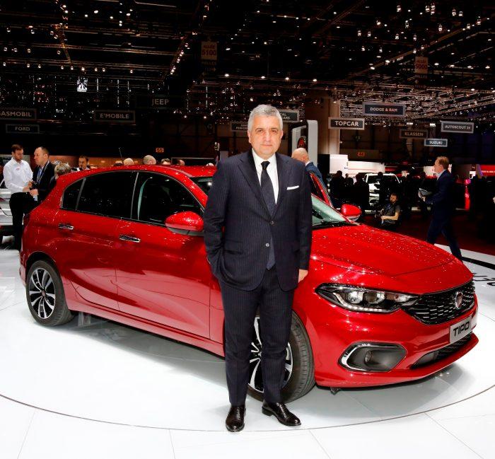 Tofaş CEO'su Cengiz Eroldu ve Fiat Egea HB