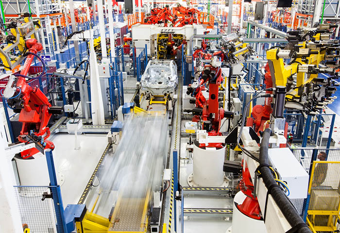 TOFAŞ fabrika montaj hattı