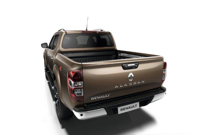 Renault Alaskan'ın arka tasarımı