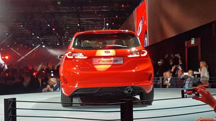 2017 Ford Fiesta'nın arka tasarımı