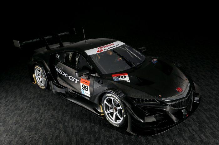 Honda NSX-GT'nin yan görünümü