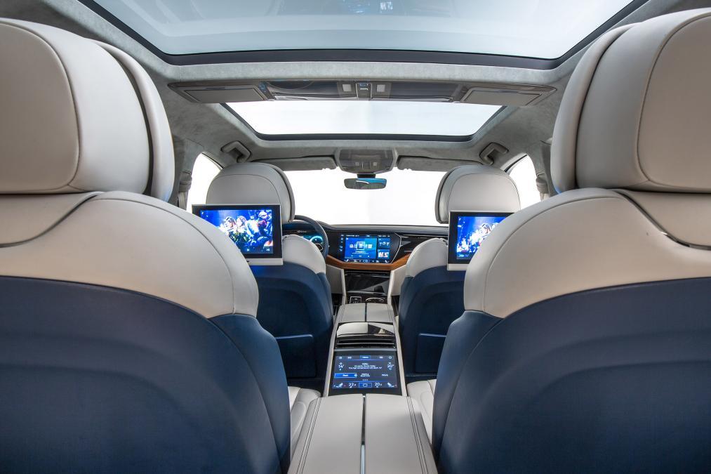 Volkswagen T-Prime konseptinin kabini