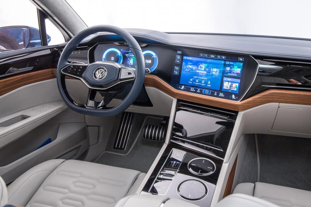 Volkswagen T-Prime konseptinin kokpiti