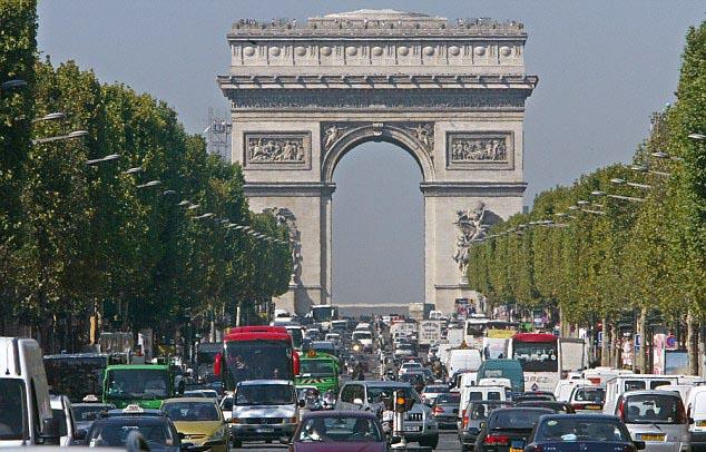paris-trafik