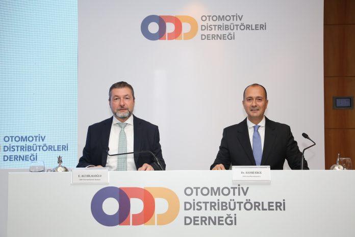 ODD Başkanı Ali Bilaloğlu ve Hayri Erce