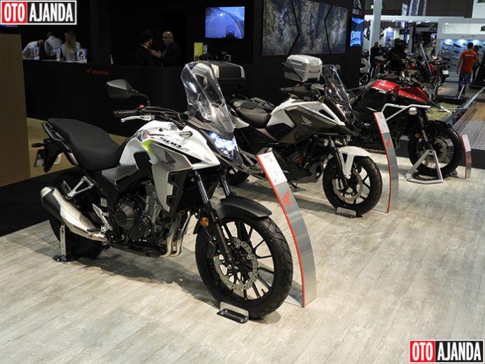 Honda; X-ADV, CB650R, CBR650R, CUP C125, CBR1000RR