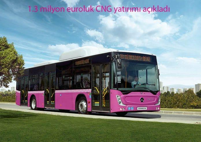 Mercedes CNG'li otobüs
