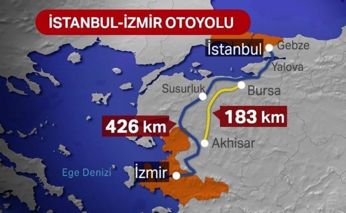 İstanbul İzmir Otoyolu açıldı