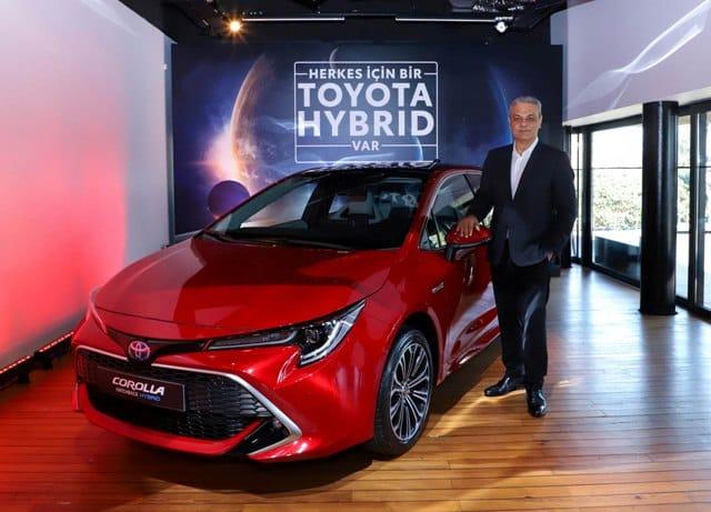Ali Haydar Bozkurt Toyota hibrit Araç filosunu büyütüyor