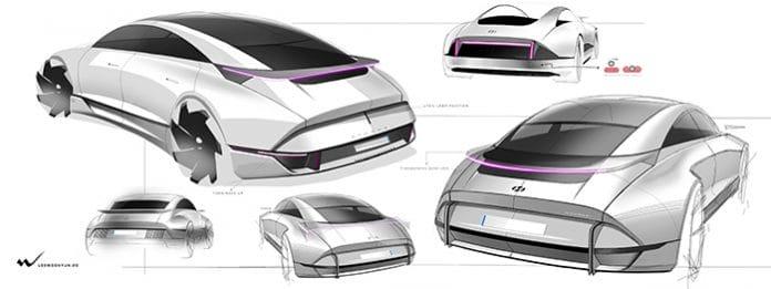 Hyundai elektrikli otonom araç