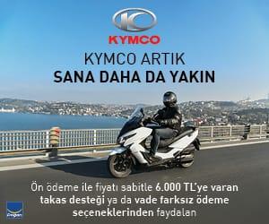 Kymco scooter kampanyalı