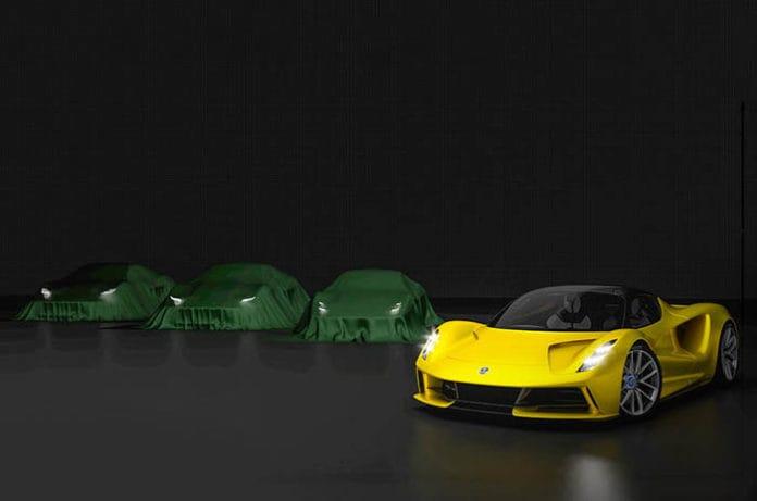 lotus spor otomobil