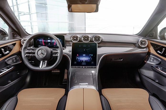 Mercedes-Benz C Klass 2021 model