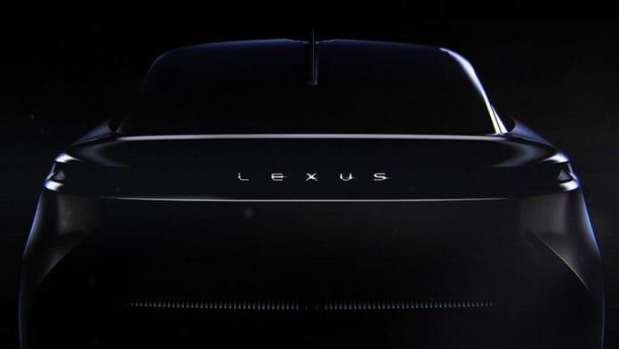 lexus yeni konsept modeli