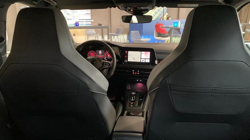 2021 volkswagen golf 8 içi