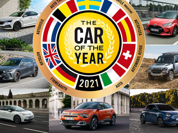 Avrupa'da yılın otomobili 2021