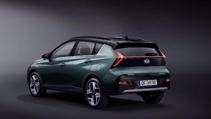 Hyundai Bayon arka tasarım