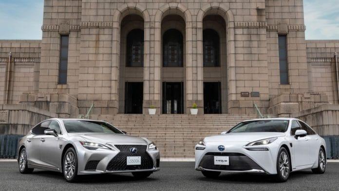 advanced drive ile yeni Toyota Mirai ve Lexus LS