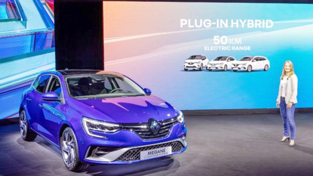 Elektrikli Megane ilk kez gösterildi: Renault Megane E ...