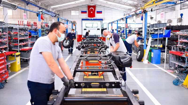 gaz türkiye sakarya fabrikası
