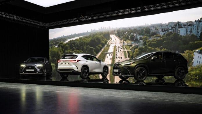 Yeni Lexus NX SUV