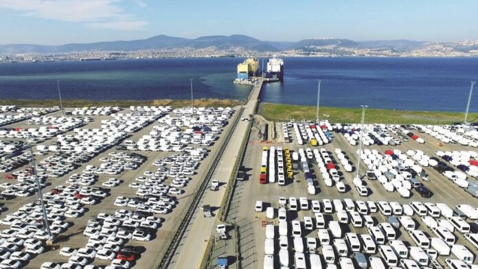 otomotiv ihracatı 2021