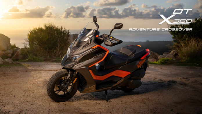 yeni kymco scooter modeli dt x360