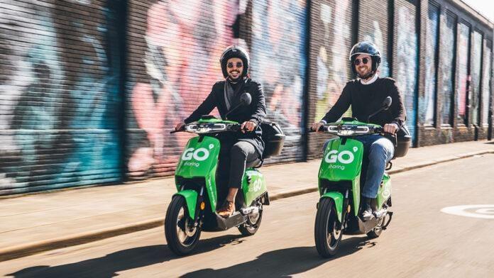 paylaşımlı scooter