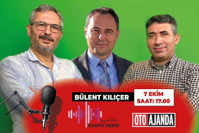 Radyo Gedik Otoajanda konuğumuz Honda Türkiye GMY Bülent Kılıçer