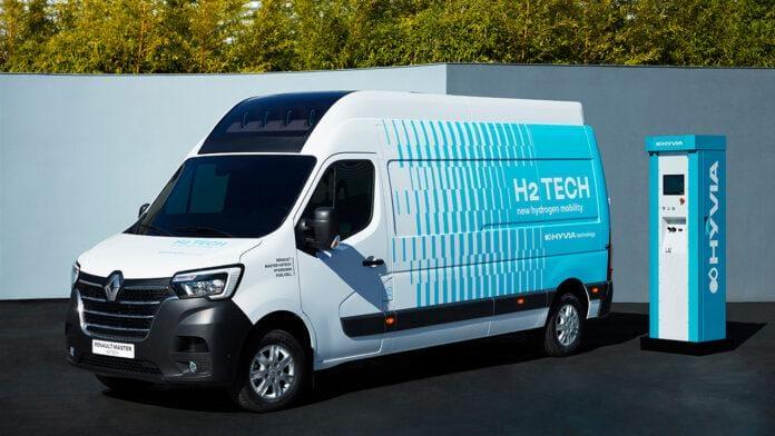 Renault master van H2-Tech